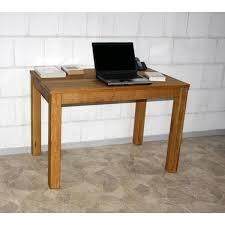 Pc Schreibtisch Buche Echtholz Pc Tisch Schreibtisch 110x70 Holz Wildeiche Massiv Geölt