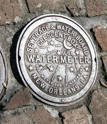 new orleans water meter n o iron watermeter cover louisiana louisiana
