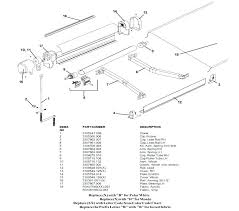 Sunsetter Awnings Parts Dometic 8500 Awning Parts Breakdown Dometic 8500 Awning Dometic