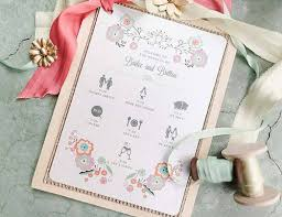 diy wedding program template 5 wedding program template ideas for each taste wedding forward