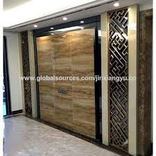 Chinese Room Dividers by China Room Divider Stainless Steel Room Partitioning Screen On