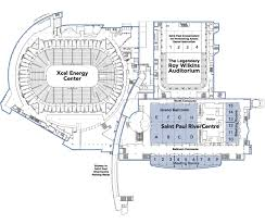 Level Floor Floor Plans Saint Paul Rivercentre