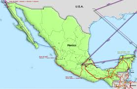 Mexico Central America And South America Map by Ancient Nomad Travel Stories Of The Ancient Nomad Ancientnomad Com