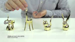 silver rabbit ring holder images Zoola jewelry ring holders brass limited edition jpg