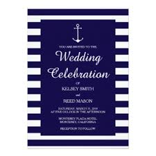 Nautical Wedding Programs Nautical Wedding Invitations U0026 Announcements Zazzle