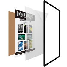 Mounting Posters Without Frames Amazon Com Framemaster 24x36 Poster Frame 1 Pack Pre