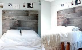 easy diy headboard stylish ideas homemade bed headboards 34 diy headboard barnwood twin