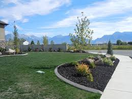 rock home decor nice black lava rock landscaping designs ideas and decor