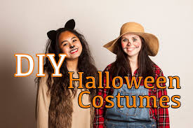 diy cheap and easy halloween costumes youtube