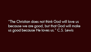 c s lewis god will make us quote