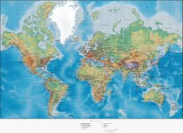 World Map With Seas by World Physical Map With Cities U2022 Mapsof Net