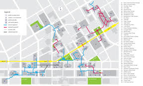 dallaspedestriannetwork info map information