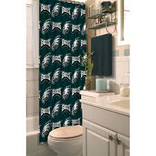 nfl philadelphia eagles decorative bath collection shower