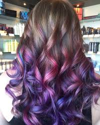 Red Hair Color With Highlights Pictures 40 Versatile Ideas Of Purple Highlights For Blonde Brown And Red