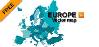 vector map of the world europe free vector map fully detailed and enjoy