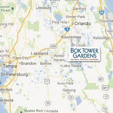 Kissimmee Florida Zip Code Map Bok Tower Gardens In Central Florida A Piece Of Florida History