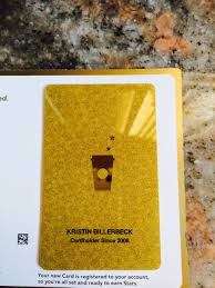 starbuck gold card girly girl by author kristin billerbeck my starbucks gold card