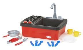 Kitchen Sink Play Tikes Splish Splash Working Sink And Play Stove Kitchen Play