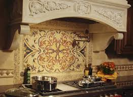 kitchen mosaic backsplash ideas 112 best back splash images on kitchens tuscan