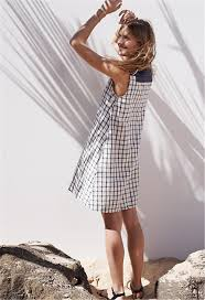 constance jablonski happy team up with madewell u0027s beach styles