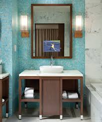 bathroom tv ideas stanford bathroom mirror tv electric mirror water resistant