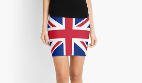 union jack 1960s mini skirt best of british flag