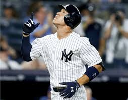 Aaron Judge Breaks Joe Dimaggio S Yankees Rookie Home Run Record - aaron judge breaks joe dimaggio s rookie home run mark but yankees
