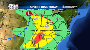 Dallas Area Map by Severe Weather Risk Area U0026 Weather Map Today U2013 Indianaweatheronline