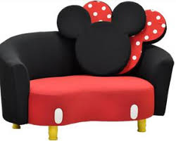 Minnie Mouse Chairs For Kids Mickey Mouse Sofa I Want This For My Disney Themed Sewing Room