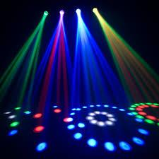 disco light chauvet dj 4play lighting effects system dmx rgb led disco party