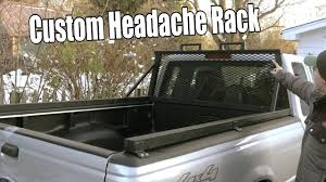 survival truck diy build your own custom headache rack window cage for pick up truck