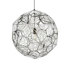 modern gold and silver fireworks metal cage lamp loft retro ball