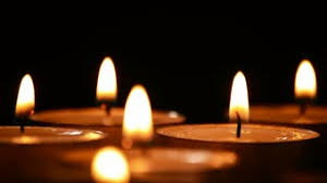 candlelights at black background stock footage videoblocks