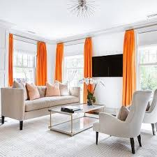 orange livingroom wall mount living room tv design ideas