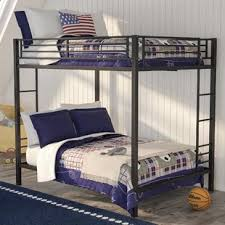 Crib Bunk Bed Bunk Bed With Crib Wayfair
