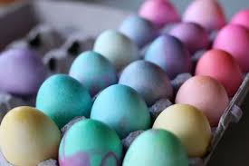 pastel easter eggs easter egg colors this is how to get them
