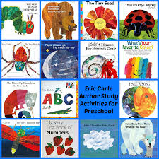 eric carle theme and author study activities for preschool u2022 the