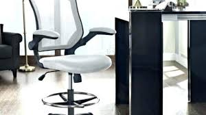 counter height desk chair bar height desk awesome plans chair interque co pertaining to 17