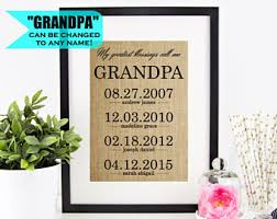 gift for grandfather etsy