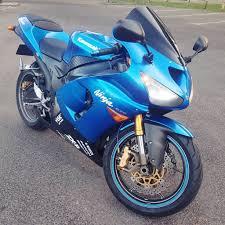 kawasaki ninja zx6r c1h 636 2005 zx 6r 05 blue like r6 gsxr cbr