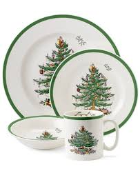 spode tree 4 place setting china macy s