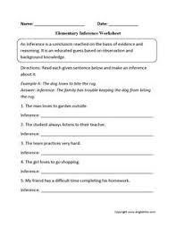 when did it happen inference worksheets inference pinterest