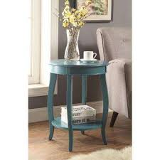 End Table Living Room Blue Accent Tables Living Room Furniture The Home Depot
