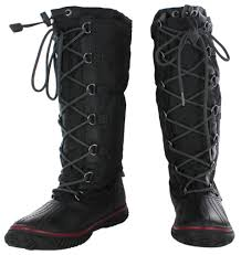 womens winter boots pajar canada grip hi women s duck snow boots waterproof winter ebay