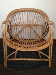 bureau en rotin anciens fauteuils en rotin atelier darblay le meuble d u0027à côté