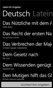 lateinische sprüche latein für angeber windows phone in entertainment tag