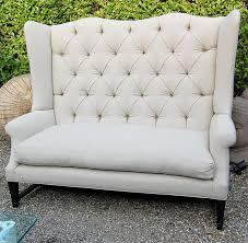 wingback couch wing back sofa for sale at 1stdibs