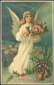 1908 blond haired christmas angel embossed german printed u2026 flickr