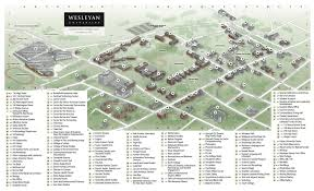 American University Campus Map Connecticut Library Consortium