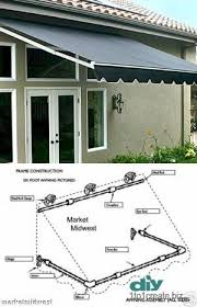 Do It Yourself Awnings 24 Best Awning Images On Pinterest Diy Awning Window Awnings